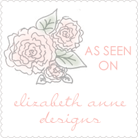 [As seen on Elizabeth Anne Designs]